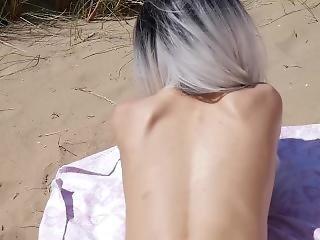 Emmapeach Gets A Creampie On The Beach 4k Pov