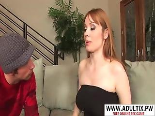 Dirty Wife Fake Mother Alayna Dior Riding Cock Hard Hot Stepson
