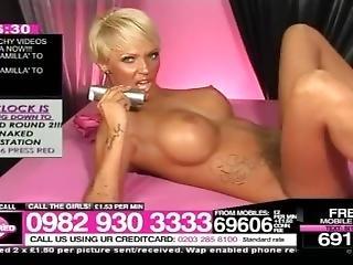 Cj Blonde Nude Oil Show