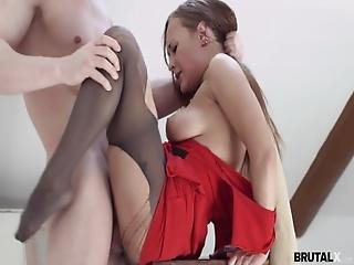 Brutalx   Model Fucks His Bitchy Painter