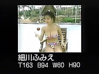 Fumie Hosokawa ????? 2 - Various Bathingsuits