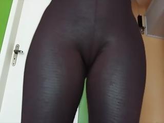 Legging Couro