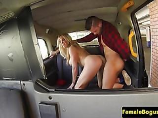 Mature Female Taxidriver Drenched In Cum