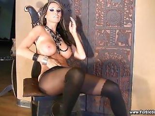 Sandee In Super Rare Pantyhose Scene. So Fucking Sexy!