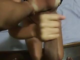 After Beach Handjob And Cum On Breasts