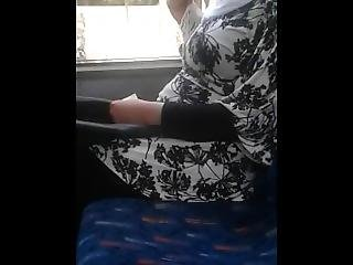 araber, bus, interracial, milf, nice bryster