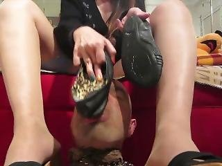 Slime Under Feet Foot Fetish