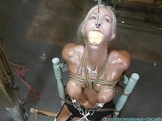 Thighs Spread Chair Tie For Amanda Foxx - Part 3