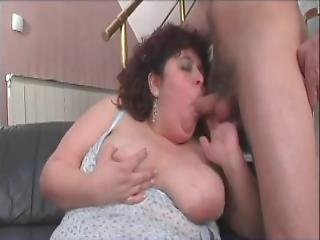 Fat Chick Gets Railed At Home