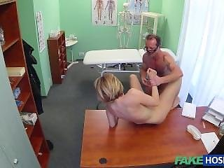 Blonde, Doctor, Fucking, Married, Milf, Public