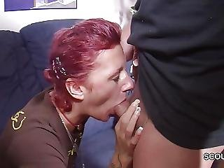 Brother, Condom, Flashing, Fucking, German, Redhead, Sister, Spanking, Teen