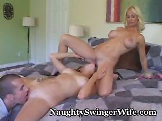 Horny Couple Invites Teen Over For Sex Romp