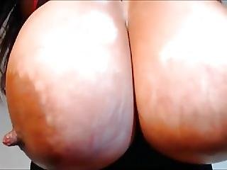Huge Tits Greased Up