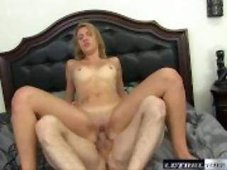 Teen Sophia wants her stepbrother to make her pussy squirt