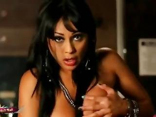 Priya Rai Squirts All Over The Bar