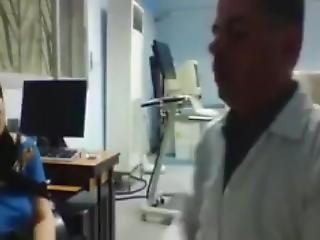 Arabic Pervert Doctor Recording His Female Patient