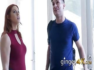 Edyn Blair Is Pulled Out Of Her Green Lingerie And Banged Hard Like A Slut
