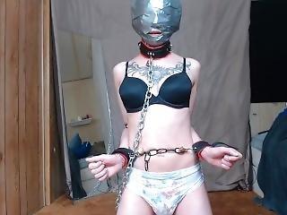 Headwrap 4 - Brainwashed Diaper Slave