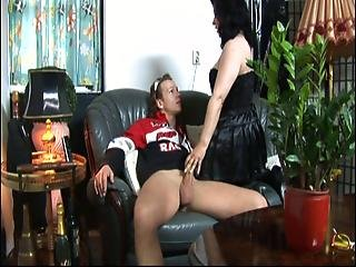 Older Dutch Mature Getting Young Cock