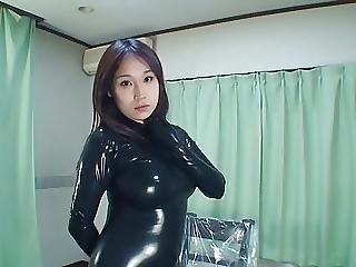 Japanese Latex Catsuit 31