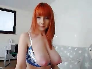 Young Redhead Boobs Bigger
