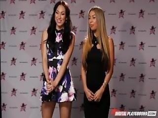 Nikki Benz Tori Black Judging Girls Blowjob Skills In Dpstar Season 3 Episode 5