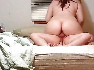 Cumming Inside Of My Bbw Slut Wife S Pussy
