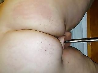 Pussy Milking Via Sex Machine