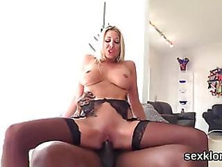 Pornstar Hottie Gets Her Asshole Fucked With Huge Love Stick