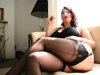 ryger, strømper