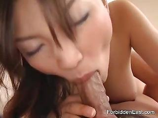 Asian Couples Action With Hot Foreplay And Creampie Finish