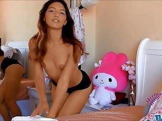 Hot Petite Babe Tease