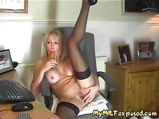 My Milf Exposed Super Hot Wife In Black Stockings