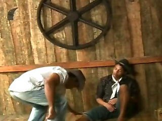 Muscle Gay Hard Fucked On A Farm