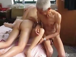 asiatisk, japansk, gammel, eldre mann, pornostjerne