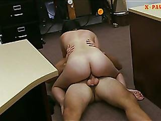 Sexy Cuban Sells Her Tv And Banged Hard By Horny Pawn Man