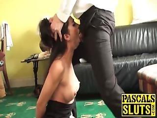 Latina Babe Julia De Lucia Enjoys A Hardcore Pussy Pounding