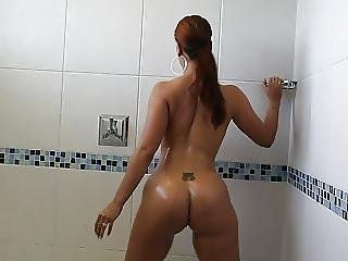She Just Took A Shower Now Shes Ready For His Bbc