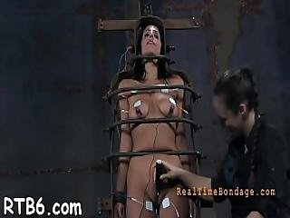 Intense Caning For Worthless Hottie