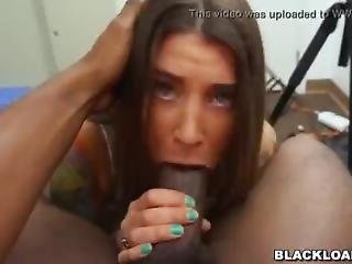 Pretty Rocker Chick Felicity Feline Abused By A Big Black Dick