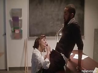 Student Janice Griffith Fucked Hard On Teachers Desk