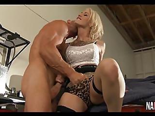 Sexy Blonde Big Tits Car Garage Fuck Kleio Valentien