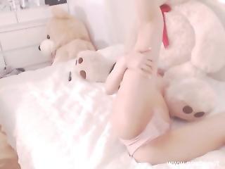 Asiatique, Coréene, Webcam