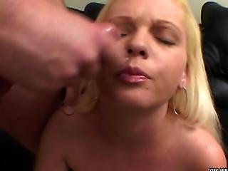 Sexy Blonde Gets To Ride Hot Shaft In Pussy