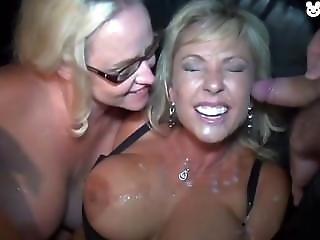 блондинка, хуй, оргия
