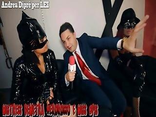Andrea Dipre Con Mistress Demetra Nerorosso E Miss Opis Aghi 994 Mb