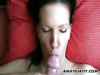 Amateur Teen Girlfriend Blowjob With Cum In Mouth