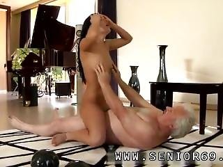 Lucky Old Man Fucks First Time But The Woman Is Very Forgiving...