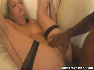 Horny Kelly Leigh Banged By A Black Stud