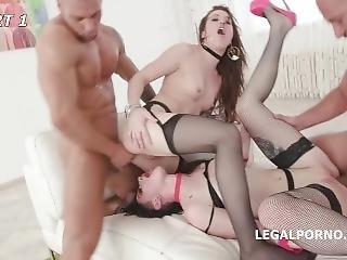 Born To Be Wild, The Beginning #2 Monika Wild Madness With Lydia Black